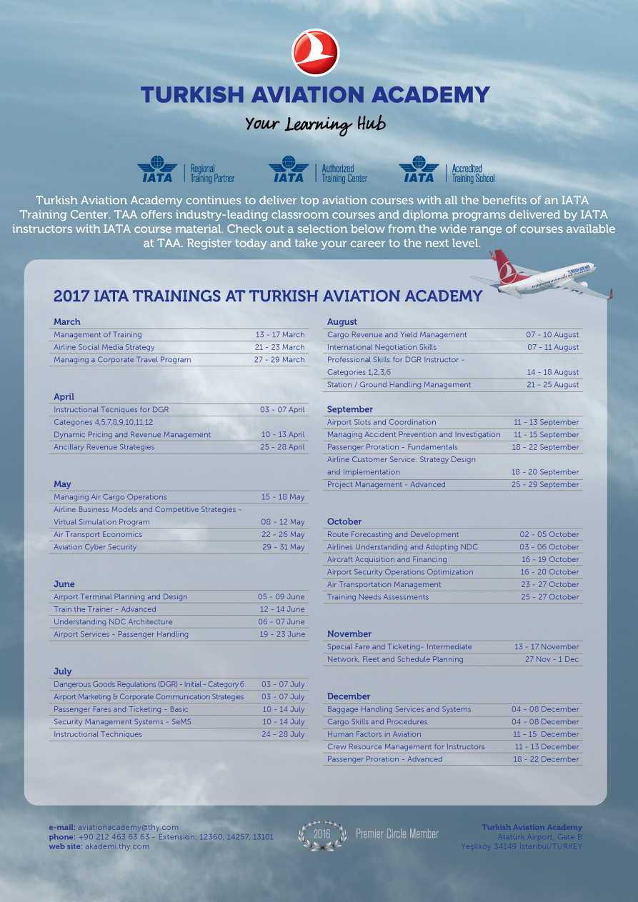 Cargo Skills and Procedures Classroom 5 days Switzerland Geneva IATA 18 Mar 22 Mar Develop a solid foundation for your cargo career by learning the