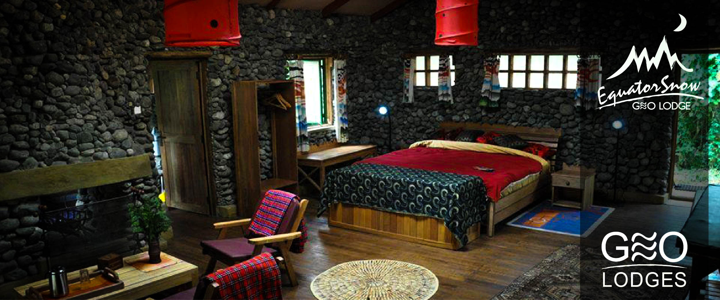 The Equator Snow Lodge is your gateway to Uganda's highest mountain range