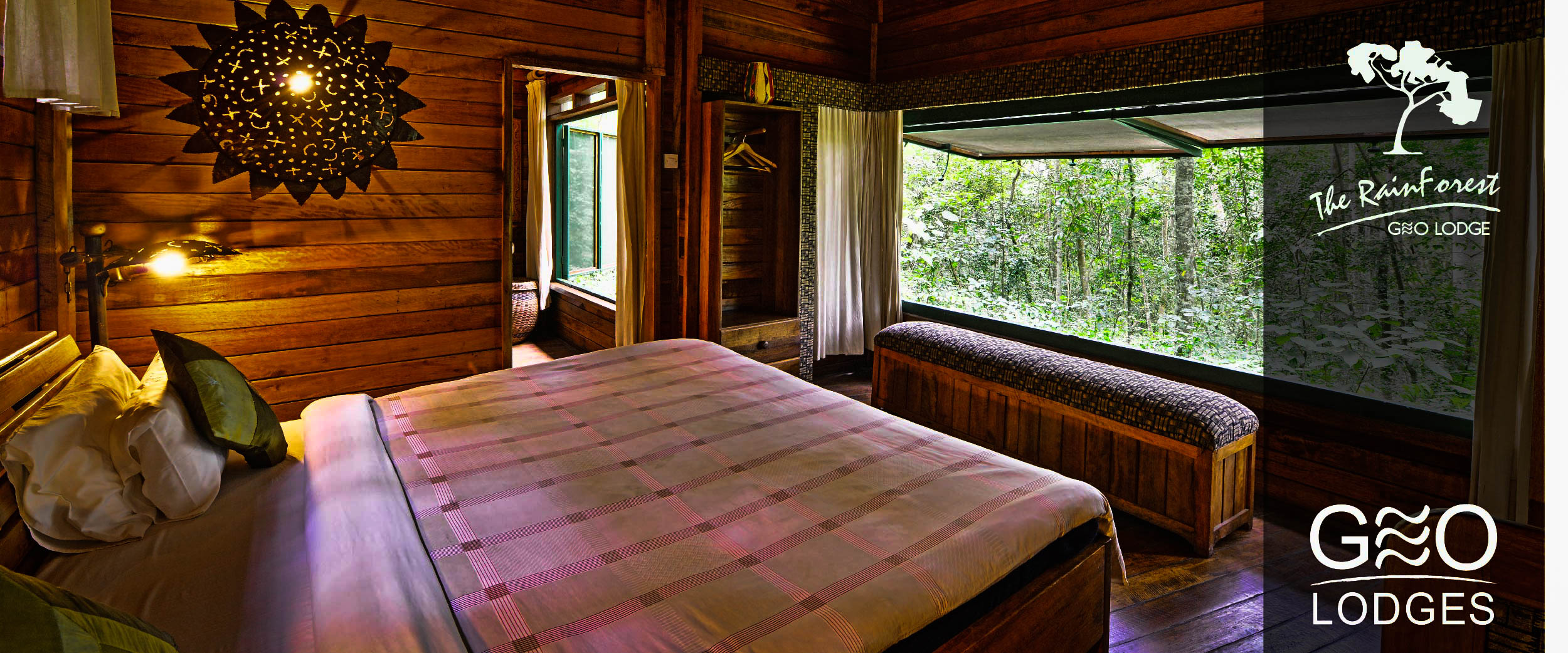 The RainForest Lodge - Uganda's only forest lodge