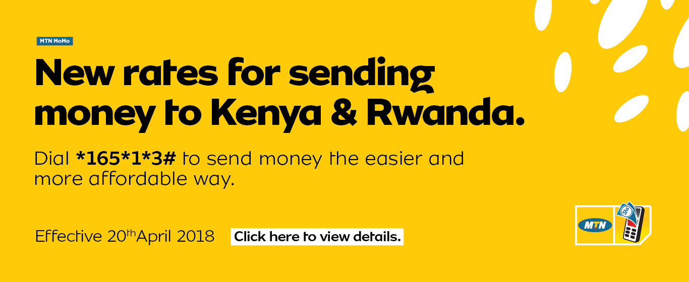 Just dial *165*1*3# and send your money across Uganda, Kenya and Rwanda ...
