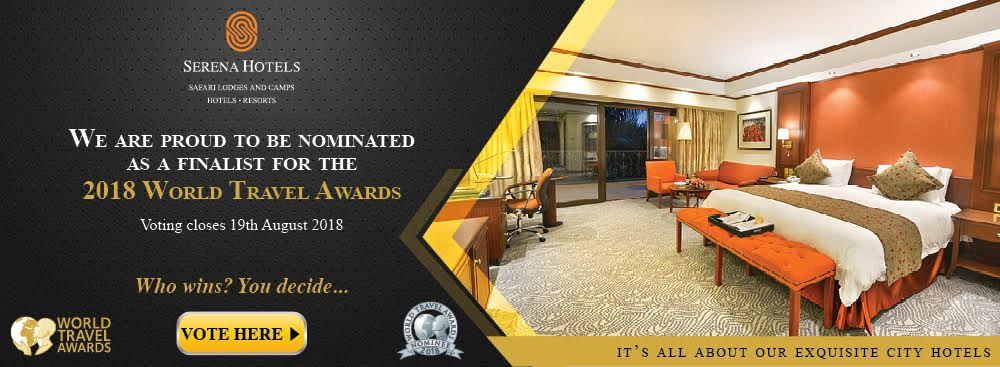 Vote for any of Serena Hotels' 25 nominations across their Eastern African operations