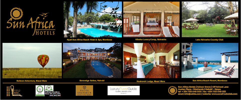Great hospitality in some of Kenya's greatest locations ...
