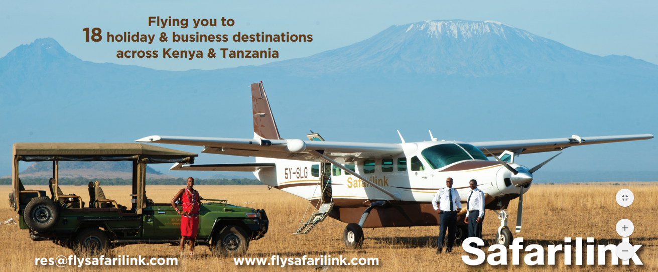Fly to 18 destinations in Kenya and Tanzania with the best beach and bush airline