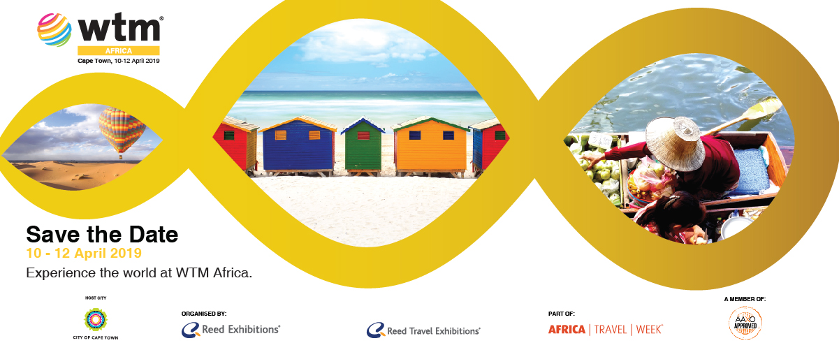 Africa's premier travel trade event in 2019 - make a date with #WTMAfrica in #CapeTown