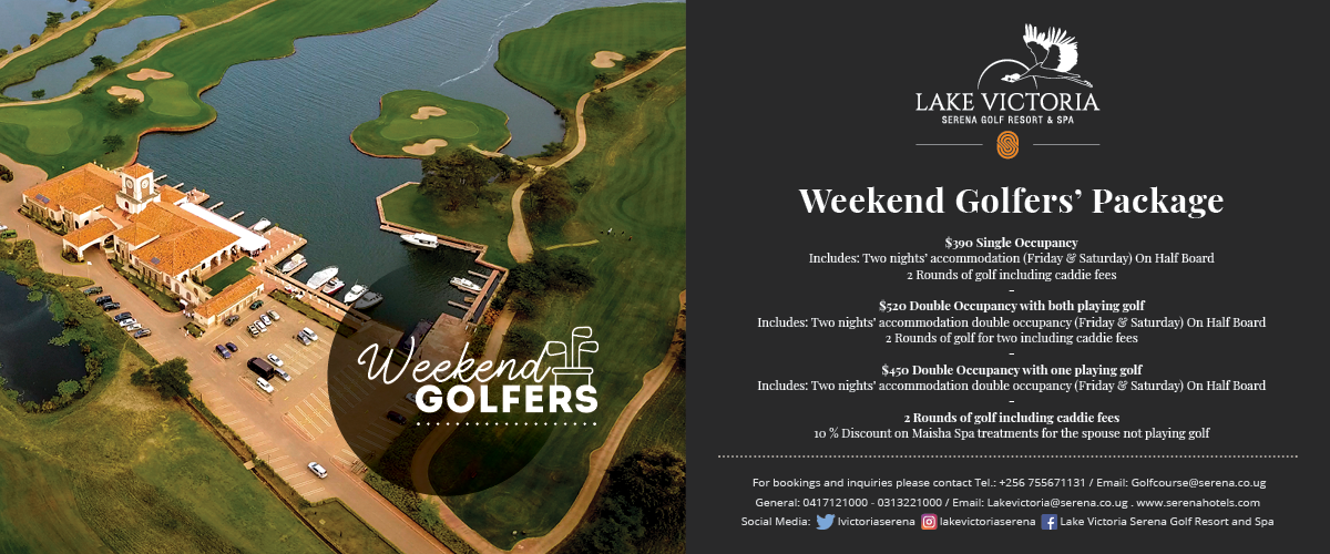 Keen on golf in Uganda? Then there is only one place to live your passion ...