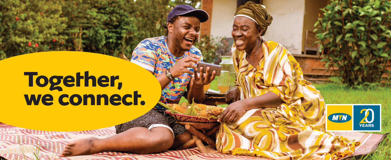 MTN - Everywhere you go for more than 20 years in Uganda now