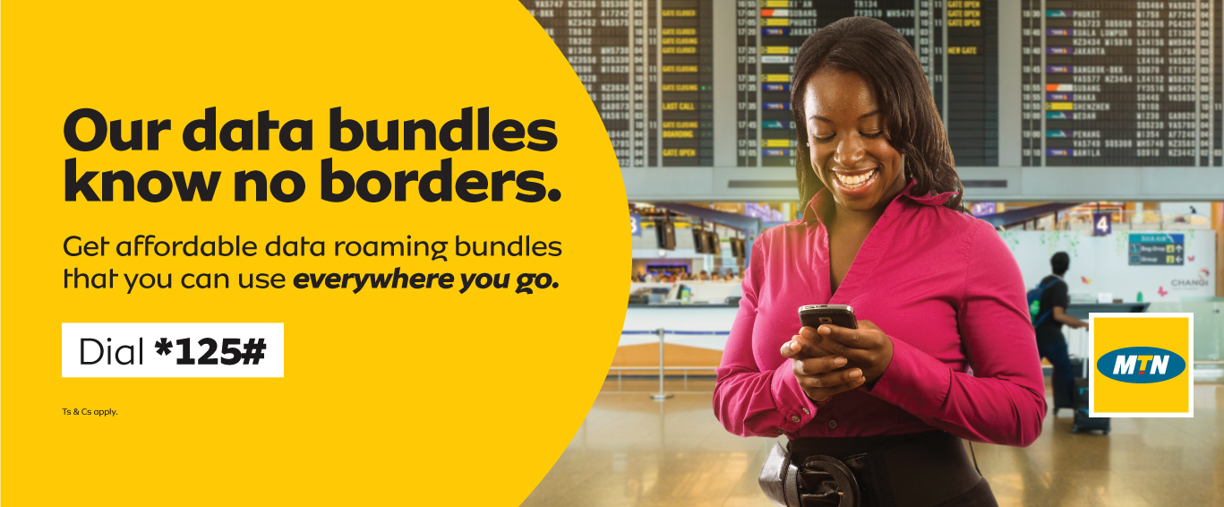 Your MTN data bundle stays active, everywhere you go in Uganda!