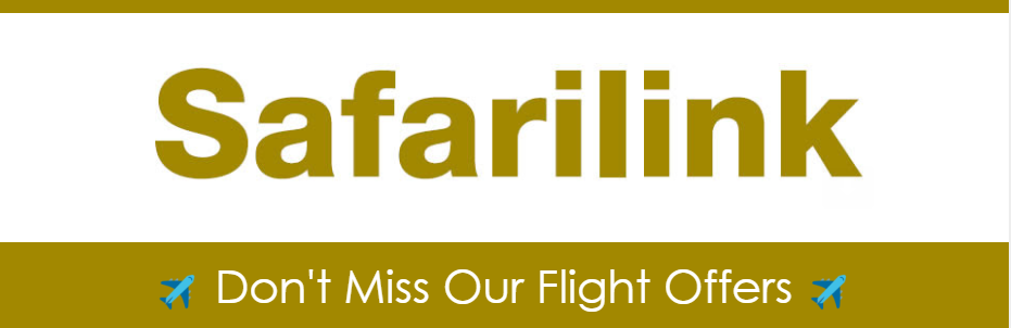 Check out Safarilink's latest offers for upcountry, bush and beach flights ...