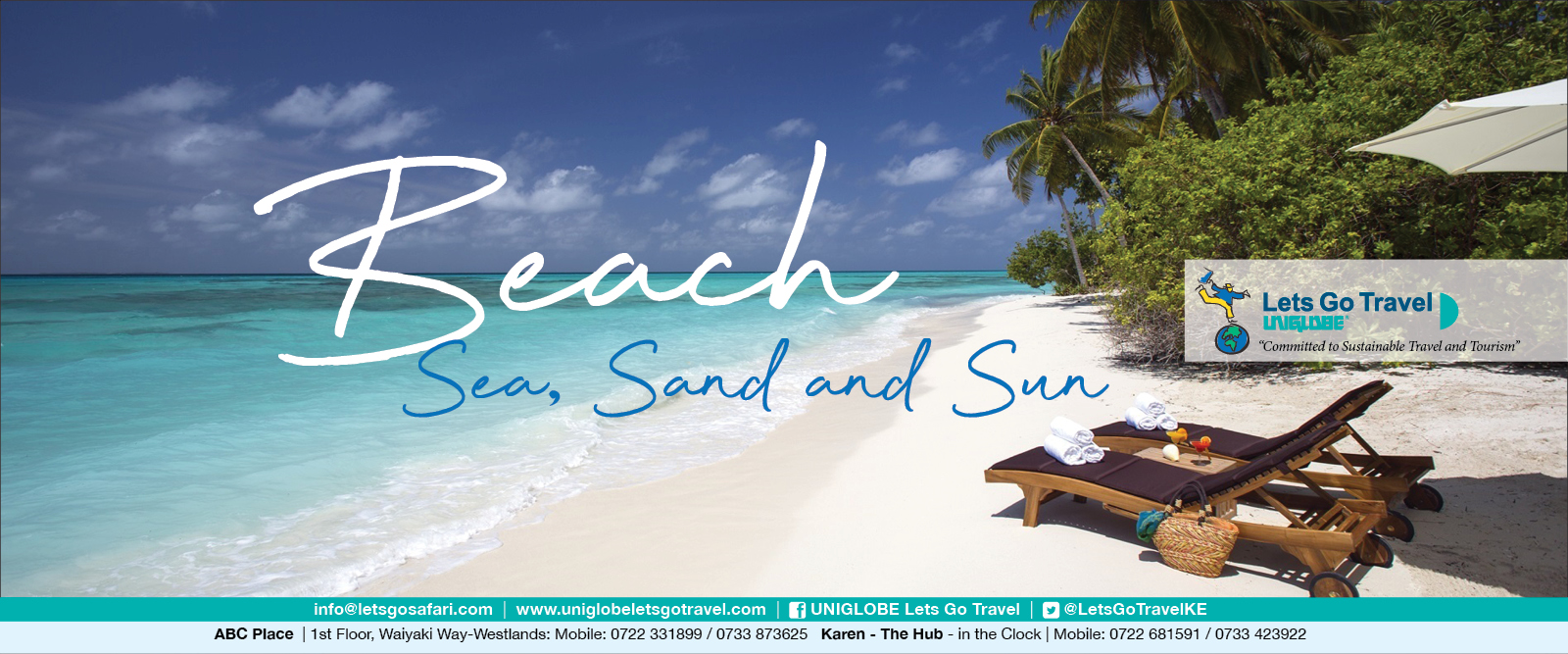 Lets Go Travel - THE Beach, Sea, Sand and Sun Specialist across East Africa!