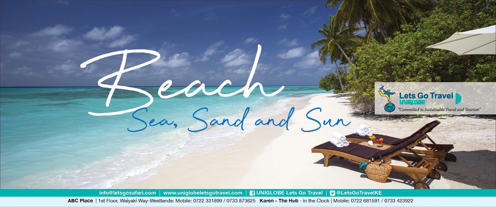 Lets Go Travel - THE Beach, Sea, Sand and Sun Specialist across East Africa!
