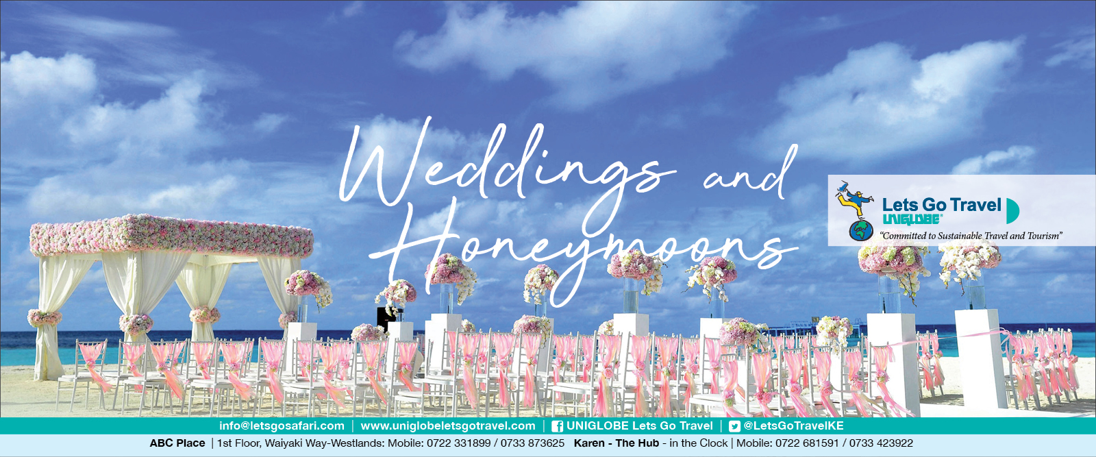 Lets Go Travel - your wedding and honeymoon specialist!
