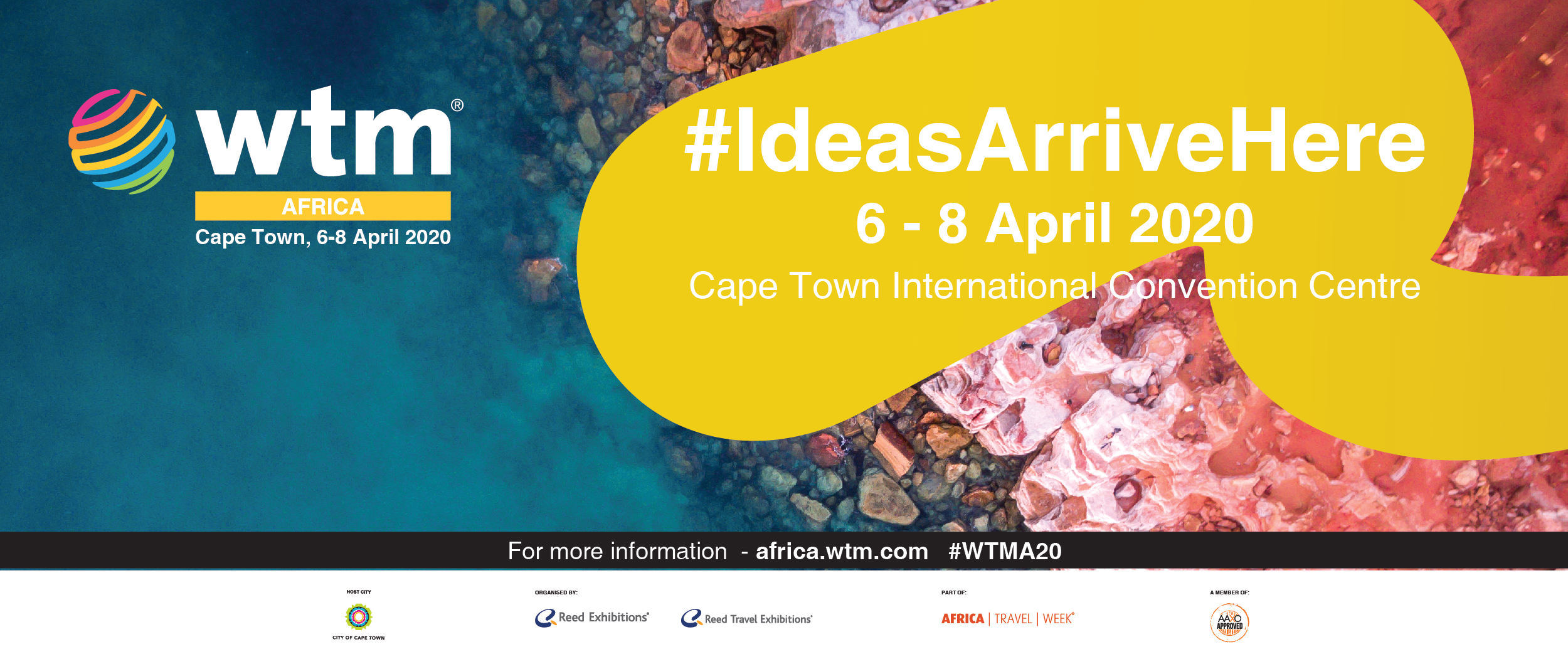 Make a date with Africa's most important tourism trade show - see you in Cape Town next April!