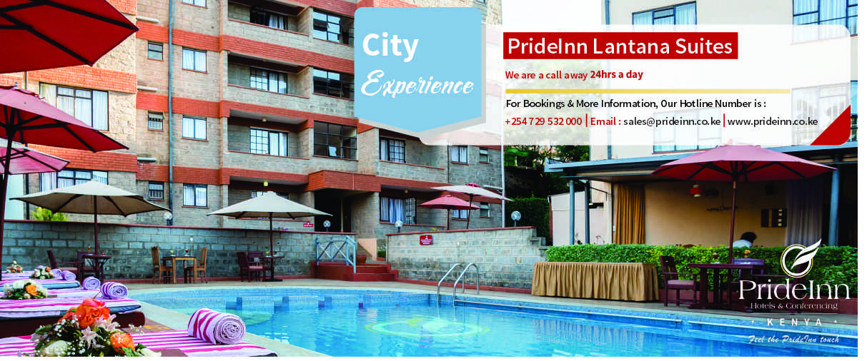 Enjoy your stay at PrideInn Lantana Suites in Nairobi