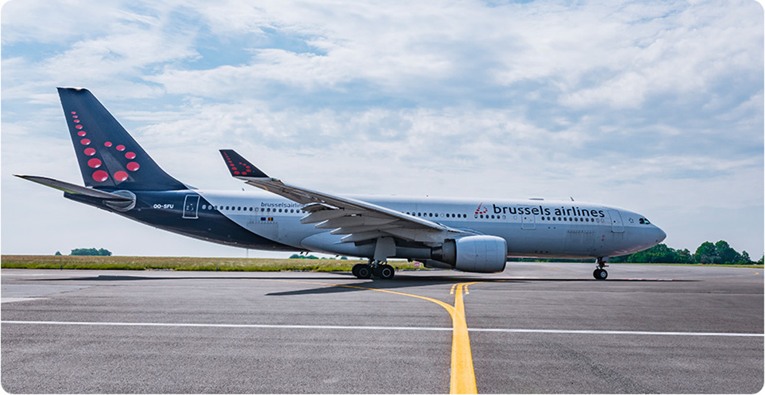 Enjoy the 'Savoir Vivre' when flying on Brussels Airlines' Airbus A330