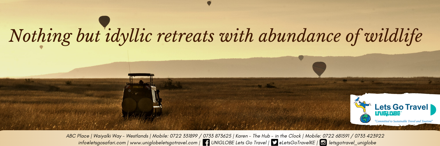 Let's Go Travel Uniglobe - Your safari and vacation specialists in Kenya