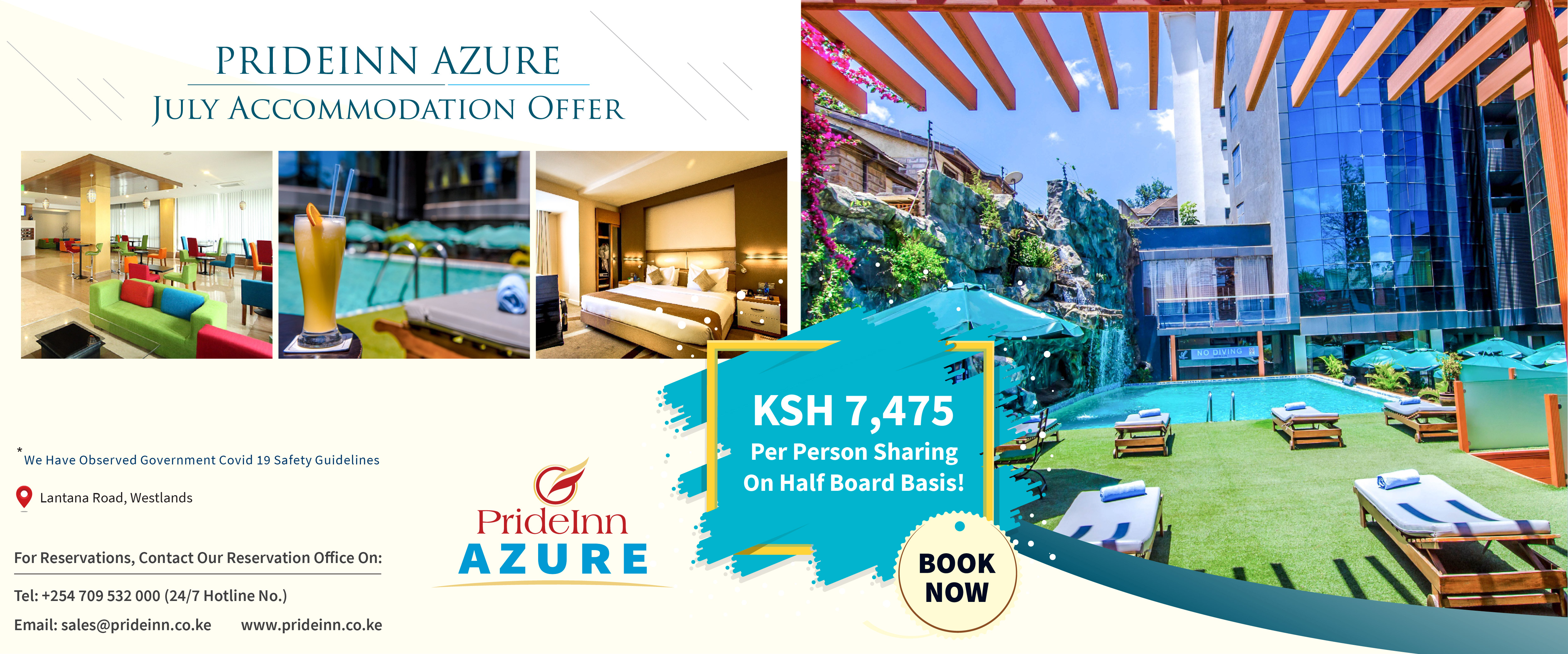 PrideInn Azure Nairobi - back in business ...