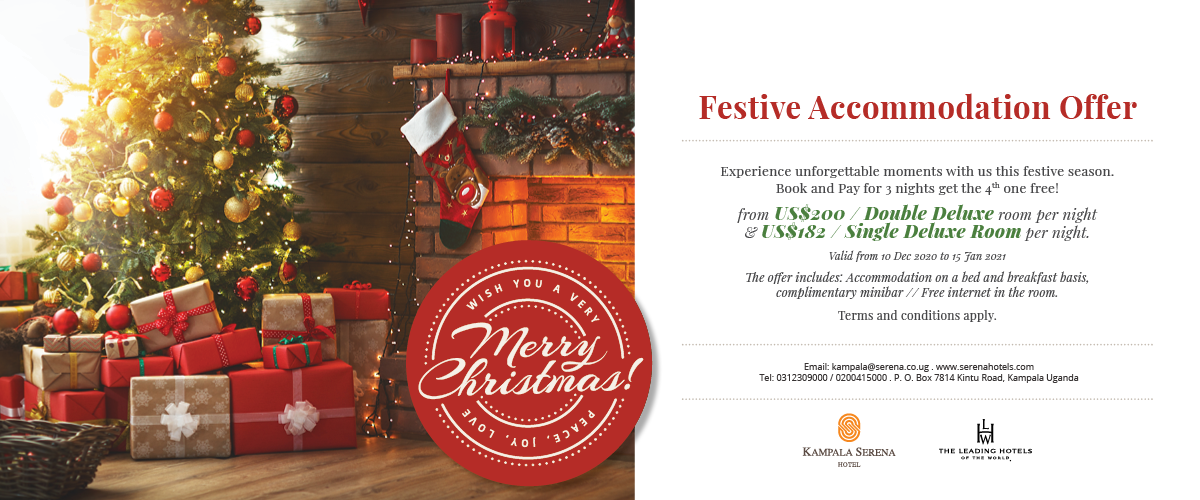 Plan ahead for the festive season and take advantage of a great offer ...