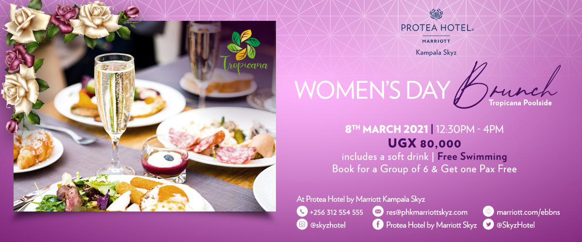 Celebrate International Womens Day with a sweeping view of Kampala