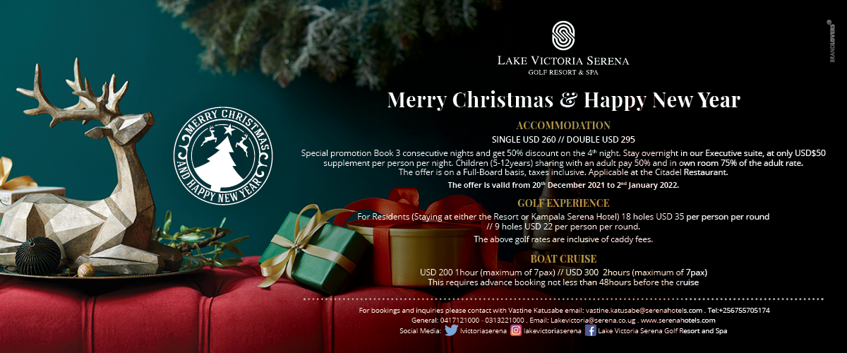Book your Christmas golfing vacation early and get a super deal at the Lake Victoria Serena